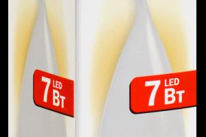 Лампа светодиодная ECO CB35 свеча на ветру 7Вт 230В 3000К E27 IEK