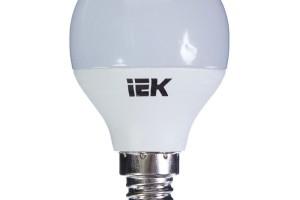 Лампа светодиодная ECO G45 шар 3Вт 230В 4000К E14 IEK