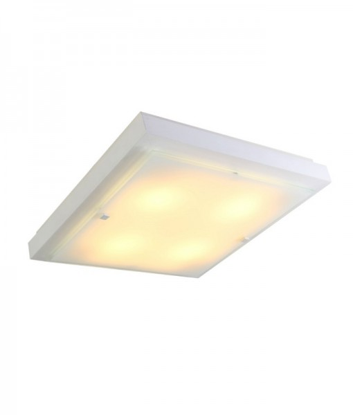 Светильник настенно потолочный ПОЛИНА большой 4хE27х60W  белый 106-11-24-3