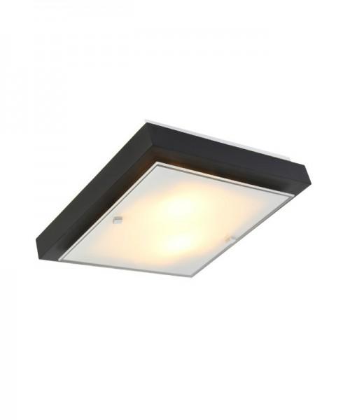 Светильник настенно потолочный ПОЛИНА маленький 2хE27х60W темный 106-41-22-1