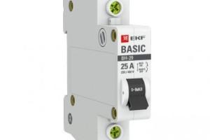 Выключатель нагрузки 1P 25А ВН-29 EKF Basic