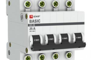 Выключатель нагрузки 4P 25А ВН-29 EKF Basic